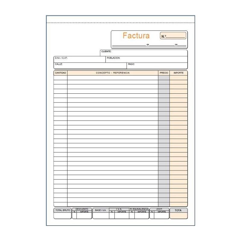 LOAN TALONARIO T56 -FACTURAS- A4 NAT DUP AUTO