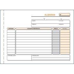 LOAN TALONARIO T121 -ALBARANES- CUARTO APDO TRIP AUTO