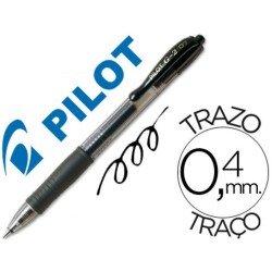 Pilot g-2 negro boligrafo tinta gel