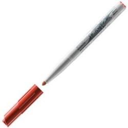 Rotulador Velleda M 1741-03 para pizarra blanca rojo