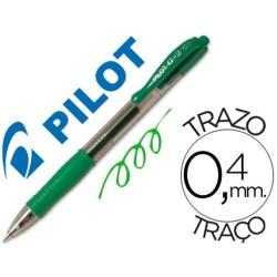 Pilot g-2 verde boligrafo tinta gel