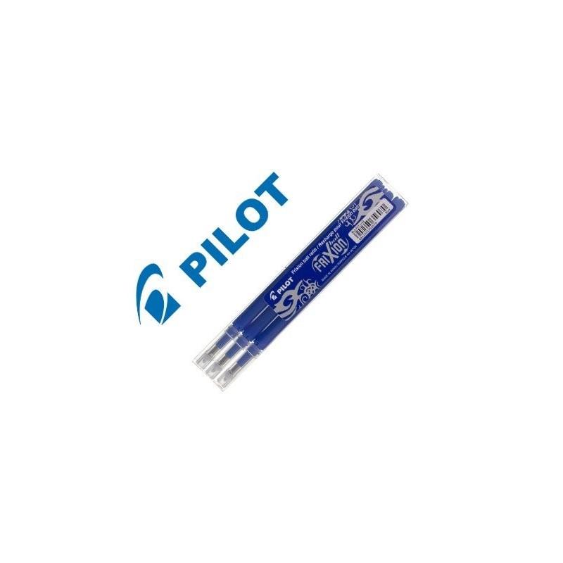 Recambio Pilot Frixion borrable azul