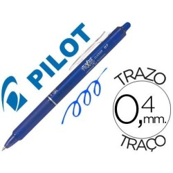 Pilot Frixion Clicker boligrafo borrable azul 0,7 BLRT-FR7L