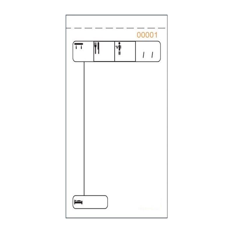 LOAN TALONARIO T575/2 -CAMAREROS- 7,3x15,5CM DUP AUTO