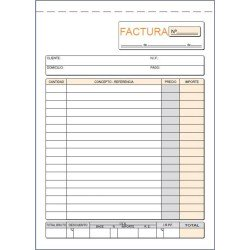 LOAN TALONARIO T63 -FACTURAS- CUARTO NAT DUP AUTO